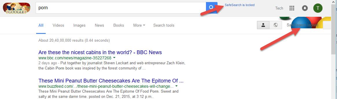 Safe porn search