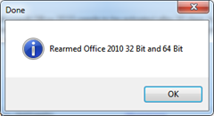 office 2010 rearmed