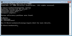 powercfg-power usage report in Win7