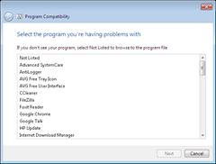 program compatibility