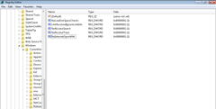 registry settings to enhance win7performance