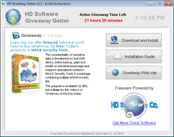 HD Software Giveaway Getter