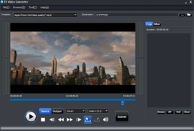TTVideoConverter thumb TT Video Converter Converts Video files to MP4, FLV, 3GP, iPhone, iPod formats