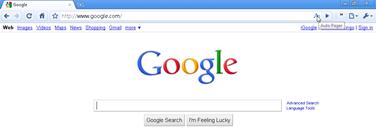 autopager icon on Chrome toolbar