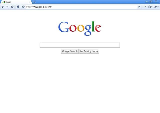 google homepage 45378 pcmode