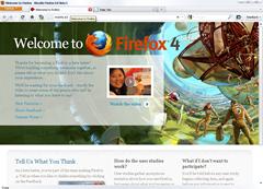 Firefox 4.0 user interface