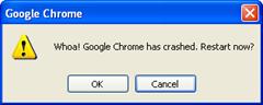 Google Chrome_crashed