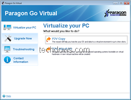 Virtulaize your PC with free Paragon Go Virtual