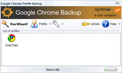 backup and restore Chrome extensions with Google Chrome backup