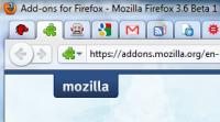 bring app tabs feature in Firefox 4.0 beta  to Firefox 3.6 with App Tabs extension