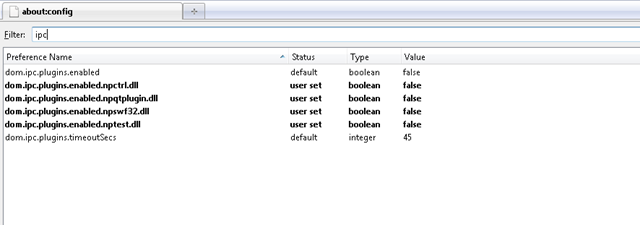 How to disable Plugin-Container.exe Process of Firefox