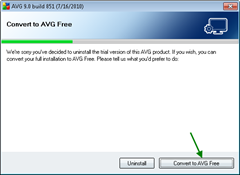 downgradingfromAVGTrialtoAVGfree thumb How to Downgrade from AVG 9.0 Trial to AVG 9.0 Free Version without uninstalling AVG Trial