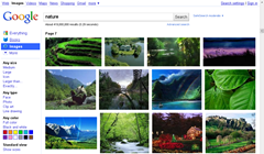 new design of Google images