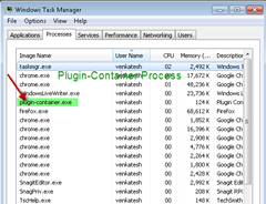 plugincontainer exeprocessintask manager thumb How to disable Plugin Container.exe Process of Firefox