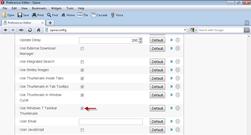 use windows 7 taskbar thumbnails