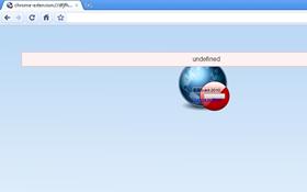 website blocked in Google Chrome from loading