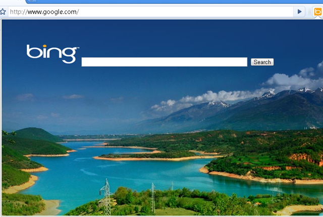 Bing search extension for google chrome techdows for Homepage wallpaper