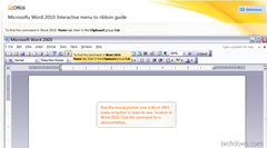 Microsoft Office 2010 interactive guides