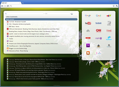 Start Google Chrome extension replaces Google Chrome's new tab page