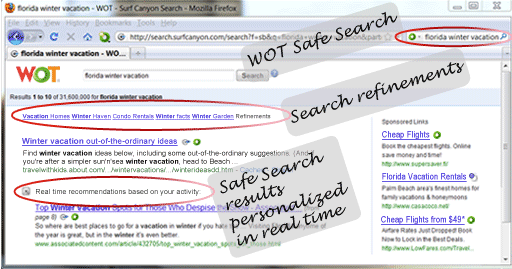 how to delete safe search from google chrome