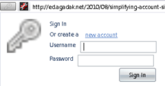account manager in firefox