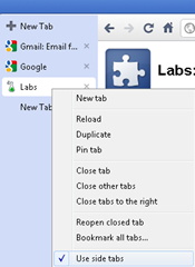 google chrome labs features