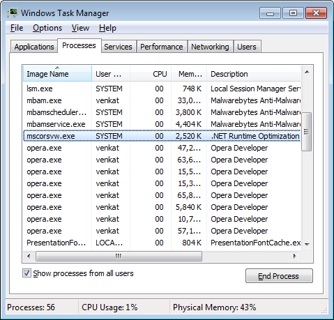 What Is Mscorsvw Exe How To Disable It From Running Updated