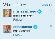 remove Who to Follow box from twitter
