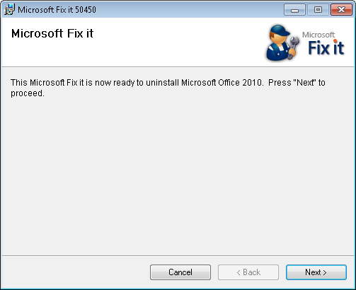 Download Office 2010 Removal Tool | Techdows
