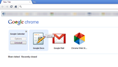 uninstall web apps from Google Chrome