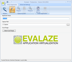 Evalaze applications virtualization