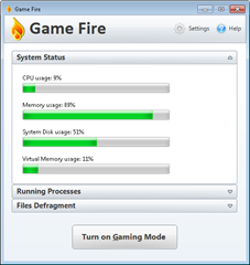 Game Fire optimizes PC for gaming needs