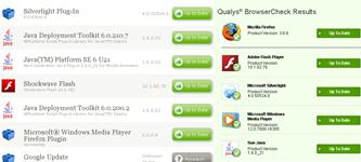 Mozilla Plugin check vs Qualys BrowserCheck