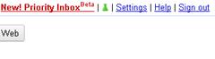 activating priority inbox in Gmail