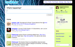 hide Who to Follow box on twitter's sidebar in Google Chrome with Hide Twitter Guff