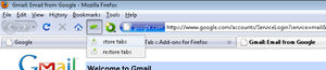 save set of tabs and restore them with StoreTab Firefox add-on