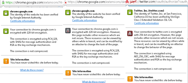 Red Skull Crossbones Icon Shown By Google Chrome On Https Pages