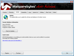 updating Malwarebytes anti-malware offline