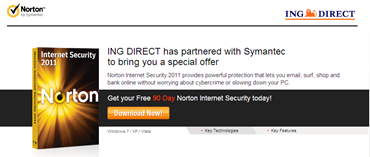 90 days Norton Internet Security 2011 giveaway
