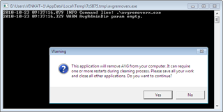 AVG 2011 Remover thumb Download AVG 2011 Removal Tool
