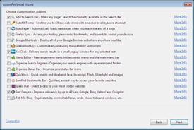 AddonFox  -multiaddon installer for Firefox