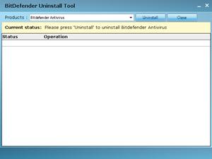 BitDefender Uninstall Tool