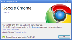 Google Chrome 7.0