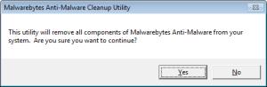 Malwarebytes Anti-Malware Cleanup Utility