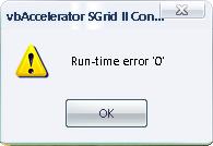 Malwarebytes Anti-malware run-time 0 error and 440 error automation error