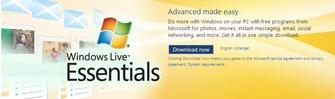 Windows Live Essentials 2011 offline installer