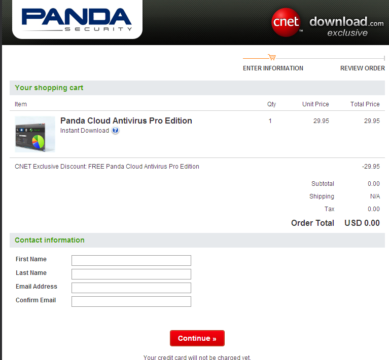 Get Free License Key for Panda Cloud Antivirus Pro Edition 1.3767