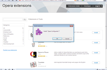 installing extensions for Opera thumb How to install extensions for Opera