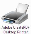 Adobe CreatePDF Desktop Printer
