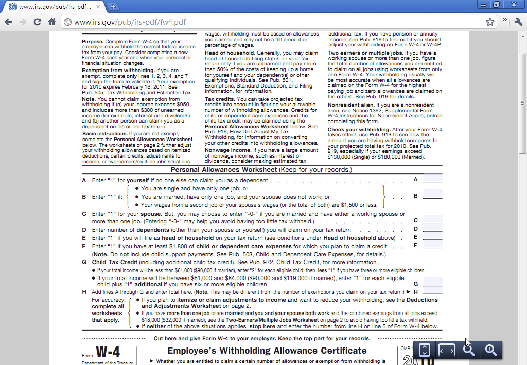 Viewer in chrome built pdf